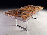 Стол слэб с екзотического дерва масив суар suar slab цельные куски, фото 3