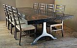 Стол слэб с екзотического дерва масив суар suar slab цельные куски, фото 6