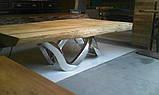 Стол слэб с екзотического дерва масив суар suar slab цельные куски, фото 7