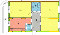 Вентиляция трехкомнатной квартиры под ключ