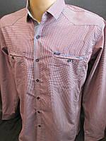 Рубашки летние с длинным рукавом.