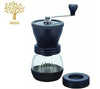 Японская ручная профессиональная кофемолка Hario Ceramic Coffee Mill Skerton+PLUS  , фото 1