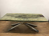 Стол слэб с екзотического дерва масив суар suar slab цельные куски, фото 8