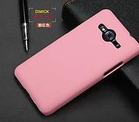 Пластиковый чехол для Samsung G355H Galaxy Core 2 розовый