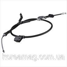 Трос стояночного тормоза правый (диск) Hyundai Accent 06-