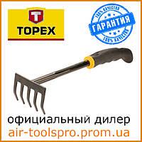 Грабли, TOPEX 340 мм 15A407 для садово-огородных работ.