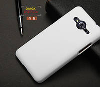 Пластиковый чехол для Samsung G355H Galaxy Core 2 белый