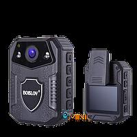 Камера для охраны BOBLOV WZ2 64ГБ IP66 4К видео с мощным аккумулятором и большим функционалом