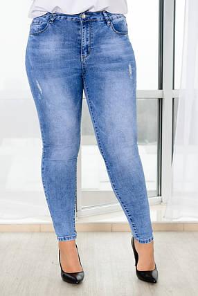Светлые джинсы комфортные в носке, фото 2
