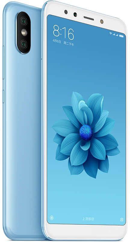 Смартфон Xiaomi Mi A2 32GB Blue Global Version Оригинал Гарантия 3 / 12 месяцев