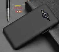 Пластиковый чехол для Samsung G355H Galaxy Core 2 черный