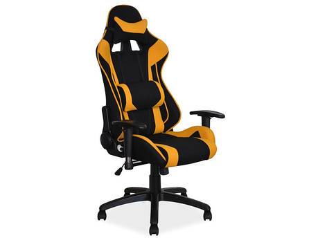 Офисное кресло Viper черно оранжевый, черно серый (Signal), фото 2