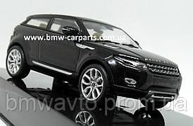 Модель автомобиля Range Rover Evoque 3 Door, Scale 1:43, Santorini Black