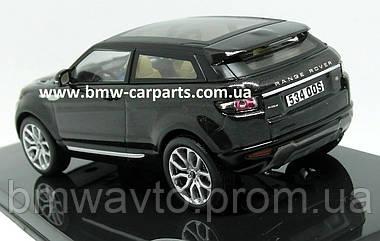 Модель автомобиля Range Rover Evoque 3 Door, Scale 1:43, Santorini Black, фото 2