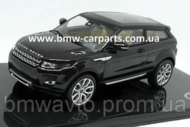 Модель автомобиля Range Rover Evoque 3 Door, Scale 1:43, Santorini Black, фото 3