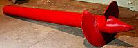 Свая винтовая (одновитковая, паля) диаметром 76 мм., длиною 1.5 метра