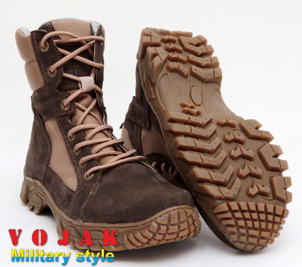 Ботинки тактические высокие (Brown)