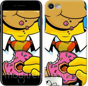 Чехол на iPhone 7 Гомер с пончиком