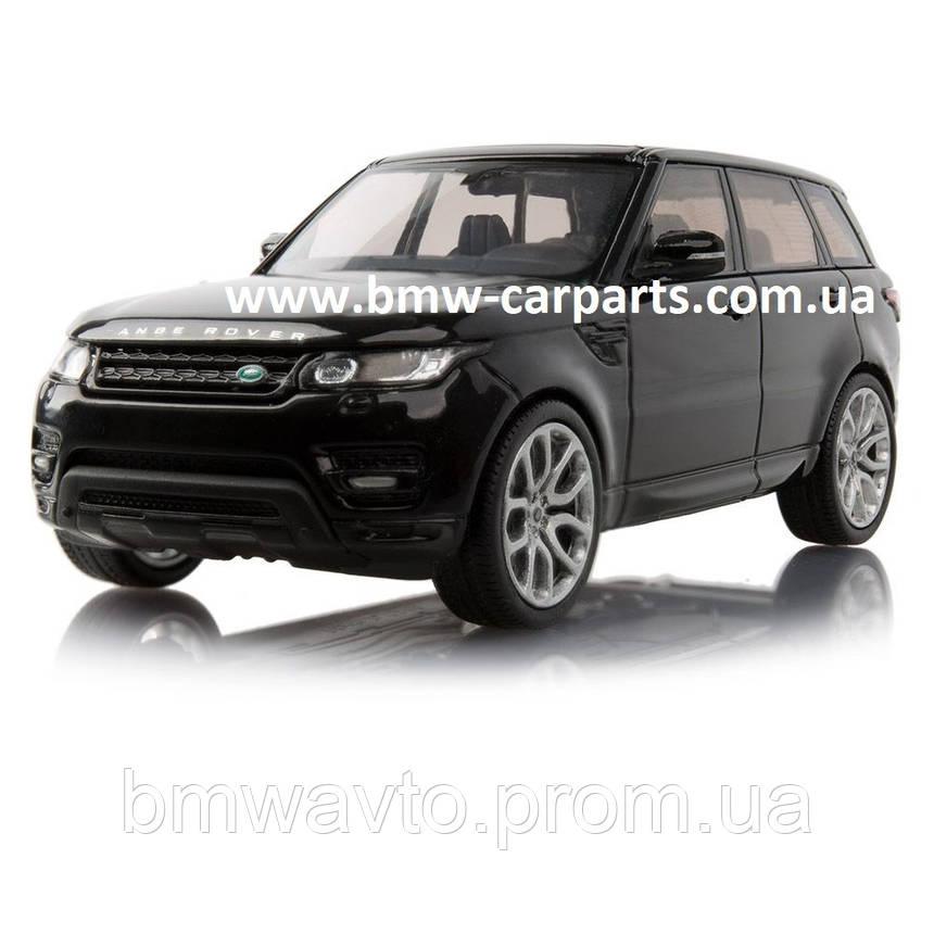 Модель автомобиля Range Rover Sport, Scale 1:43, Santorini Black, фото 2