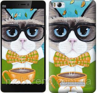 Чехол на Xiaomi Mi4i Cat&Coffee