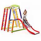 Акция! Деревянный детский Спортивный комплекс для дома для малышей Спортбейби   Кроха - 1 Plus 1-1 SportBaby, фото 3