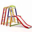 Акция! Деревянный детский Спортивный комплекс для дома для малышей Спортбейби   Кроха - 1 Plus 1-1 SportBaby, фото 7