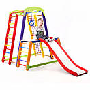 Акция! Деревянный детский Спортивный комплекс для дома для малышей Спортбейби   Кроха - 1 Plus 1-1 SportBaby, фото 8