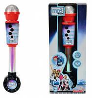 Детский музыкальный инструмент Микрофон с разъемом для МР3 плеера My Music World на батарейках