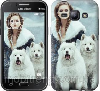 Чехол на Samsung Galaxy J1 J100H Winter princess