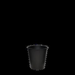 """Стакан бумажный """"Настроение ЧЁРНЫЙ"""" 110 мл 50шт/уп (1ящ/20уп/1000шт)"""