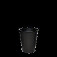 """Стакан бумажный """"Настроение ЧЁРНЫЙ"""" 175 мл 50шт/уп (1ящ/20уп/1000шт) (КВ71/РОМБ71), фото 1"""