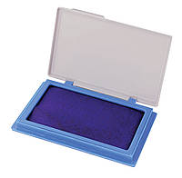 Подушка штемпельная настольная 70х110 мм Economix 42101 синяя
