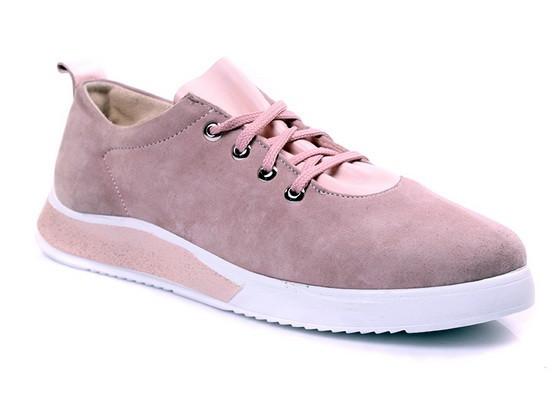 8ddaf47b1 Весенние женские кеды стильные удобные низкие под джинсы из замши (розовые)