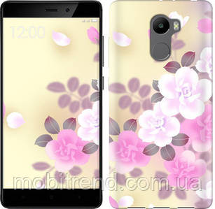 Чехол на Xiaomi Redmi 4 Японские цветы