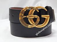 Женский кожаный ремень Gucci 40 мм., реплика 930860