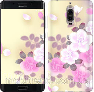 Чехол на Huawei Mate 9 Pro Японские цветы