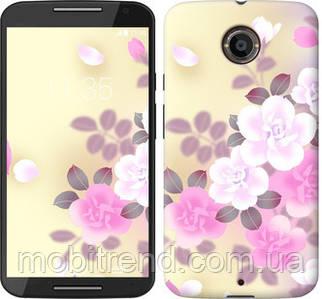 Чехол на Motorola Moto X2 Японские цветы