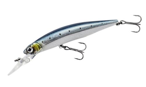 Воблер FISHYCAT LIBYCA 75DSP цвет R08 длина 75мм вес 5,2гр заглубление 1,2-1,5м взвешенный