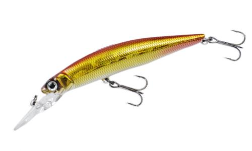 Воблер FISHYCAT LIBYCA 75DSP цвет R15 длина 75мм вес 5,2гр заглубление 1,2-1,5м взвешенный