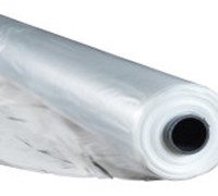 Пленка ПЭ, рукав, 1 сезон, рулон 100 м. ширина 1000 мм (в развороте 2000) толщина 100 мкм