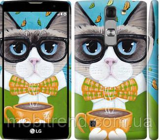 Чехол на LG G4c H522y Cat&Coffee