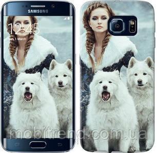 Чехол на Samsung Galaxy S6 Edge G925F Winter princess
