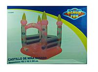 Детская надувная площадка Замок 162*162*205 см