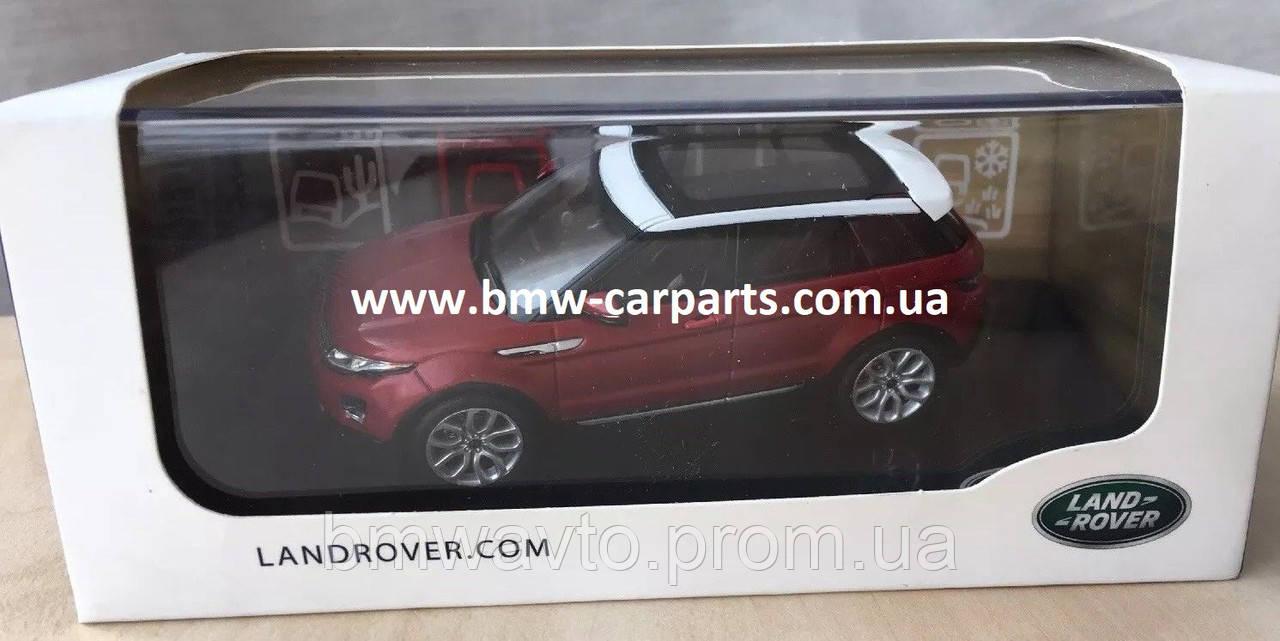 Модель автомобиля Range Rover Evoque 5 Door, Scale 1:43, Firenze Red, фото 2