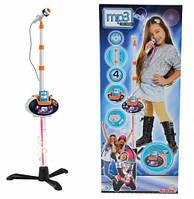 Мікрофон дитячий на стійці знімна база і роз'єм для MP3 My Music World 4 вбудовані демо-мелодії