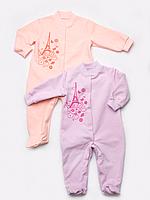 Теплые человечки для новорожденных (для девочки)