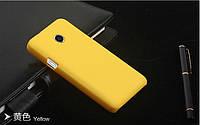Пластиковый чехол для Huawei Ascend Y330-U11 желтый