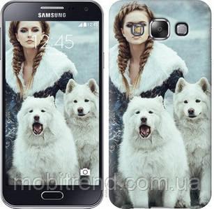 Чехол на Samsung Galaxy E5 E500H Winter princess