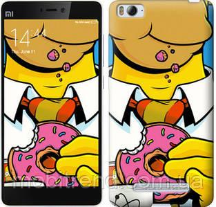 Чехол на Xiaomi Mi4i Гомер с пончиком