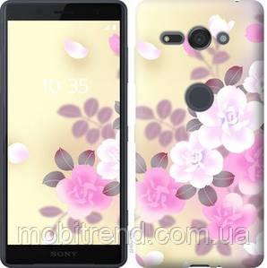 Чехол на Sony Xperia XZ2 Compact H8324 Японские цветы